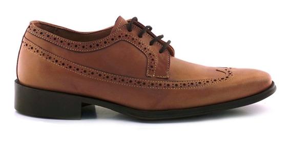 Zapato Hombre Acordonado Cuero Briganti - Hcac00760