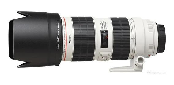 Canon 70-200mm F/2.8 Is Iii Usm C/ 70-200 2.8 Canon Nova