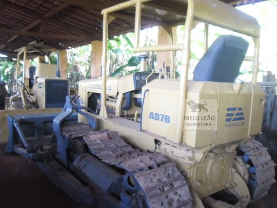 Trator De Esteira Fiatallis Ad7b - Ano 1984 - 2º Dono