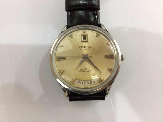 Relógio Automático Ducal Invicta Original, Duplo Calendário.