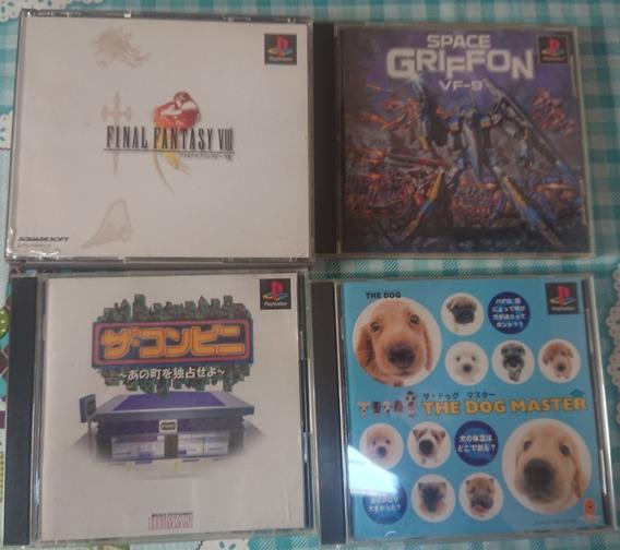 Lote De Jogos Ps1 Final Fantasy Viii 8 Space Griffon