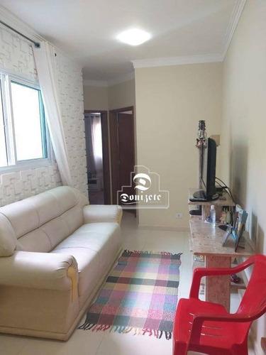 Cobertura Com 2 Dormitórios À Venda, 136 M² Por R$ 450.000,00 - Vila Scarpelli - Santo André/sp - Co11535