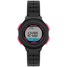 Relógio Mormaii Infantil Original C/nf Nxt Preto Mo0974b/8t