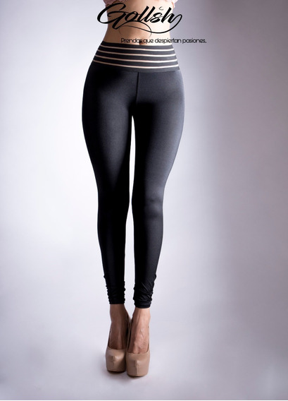 Leggin Mallon Twerk Sexy Apariencia Mojada Licra Colombiana