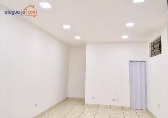 Ótimo Ponto Comercial Para Alugar, 35 M² Por R$ 1.300/mês - Parque Industrial - São José Dos Campos/sp - Pt0317