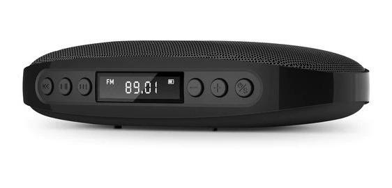 Caixa De Som Jbl Com Rádio Fm 5w Portátil Com Bluetooth E Cartão Cabe Na Palma Da Mão E Até No Bolso! Bateria 850 Mah!