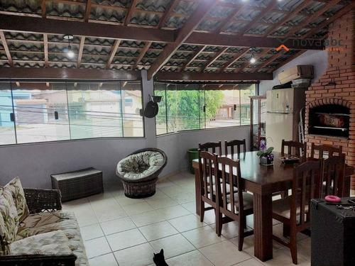 Sobrado Com 2 Dormitórios À Venda, 211 M² Por R$ 470.000 - Jardim Alzira Franco - Santo André/sp - So0985