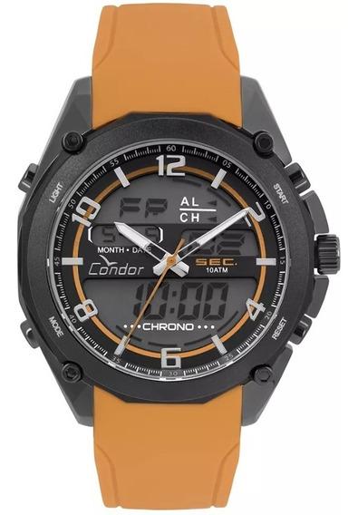 Relógio Condor Masculino Anadigi Cronógrafo Coy121e6ae/2p