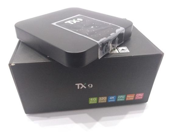 Tv Box Sua Tv Em Smart 4k 3gb/32gb Android 9.0