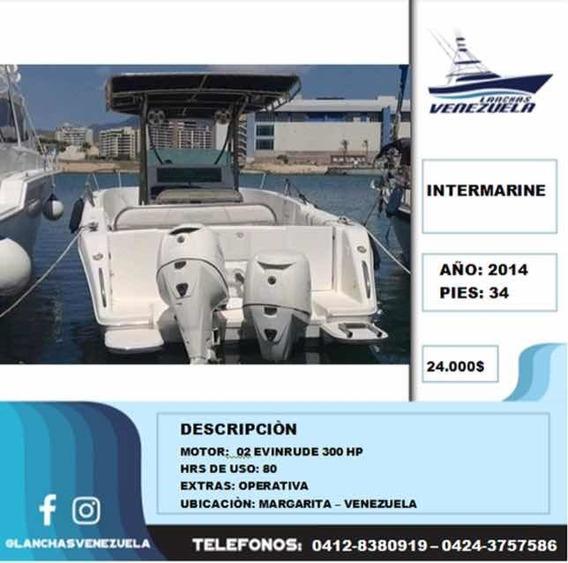 Lancha Intermarine 34 Lv211