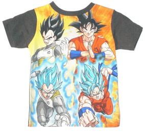 Playera Kakaroto Ssj Mask Dragon Ball Goku Original Talla 4