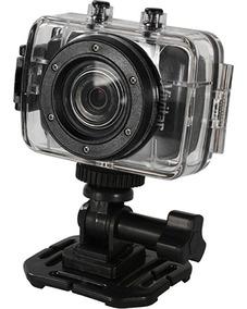 Câmera Filmadora De Ação Vivitar Dvr785hd Preta E Acessórios