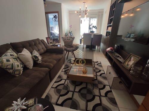 Apartamento Com 2 Dormitórios ( Sendo 1 Com Suíte ) Bela Vista - São José - Ap2058