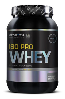 Iso Pro Whey 900g - Probiótica - Proteina Isolada + Brinde