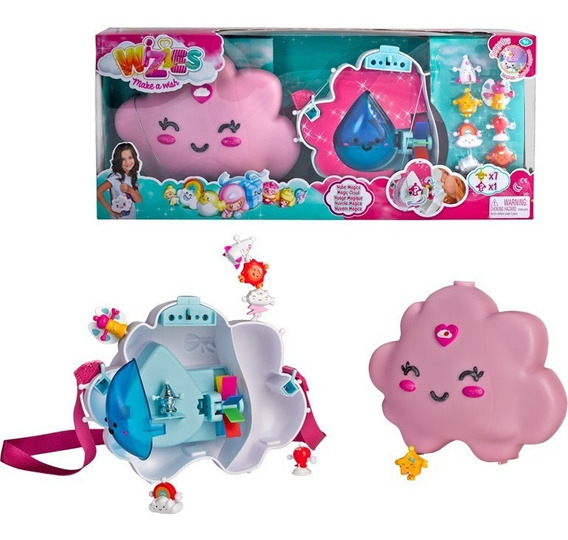 Wizies Playset Nube En Cartera C/8 Fig Int 14292 Original