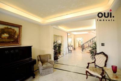 Casa Comercial Ou Residencial Com 4 Dormitórios À Venda, 1.200 M2 De Terreno E 1000m² De Construída Por R$ 10.000.000 - Jardim Europa - São Paulo/sp - Ca0205