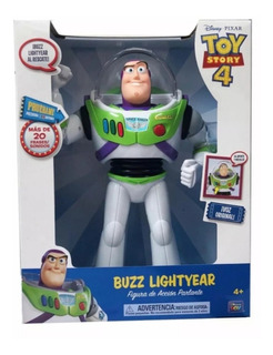Toy Story 4 Buzz Lightyear(mas De 20 Frases)catellano!lanus