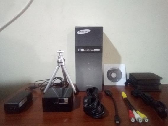 Vídeo Beam Samsung Sp-h03 Pico Proyector 150 Verdes