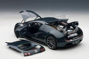 Miniatura Bugatti Veyron W16.4 Super Sport Auto Art 1:18