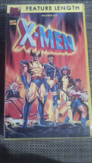 X-men Vhs Español Latino
