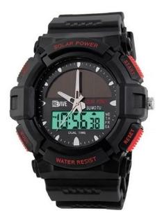 Reloj Revive Kr0722 Poliuretano Negro Hombre