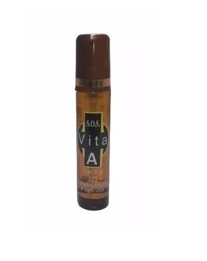 Ampola Flaconete Dermabel Spray 15ml Vita A 2,8ml