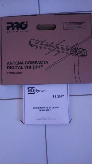 Antena E Conversor Digital