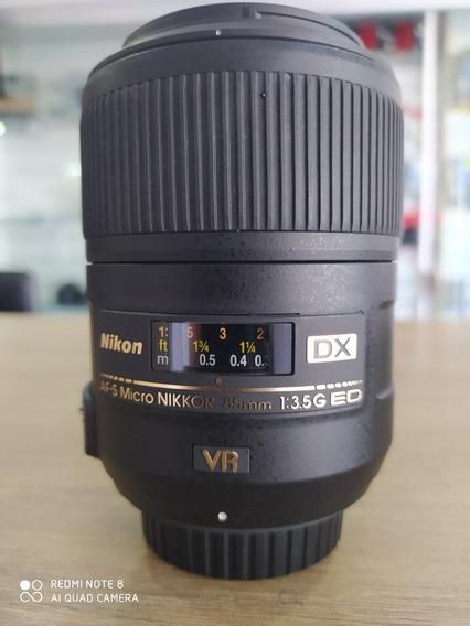 Nikon 85mm F/3.5g Vr Ed Micro