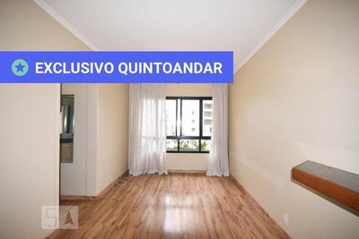Apartamento No 4º Andar Mobiliado Com 1 Dormitório E 1 Garagem - Id: 892935185 - 235185