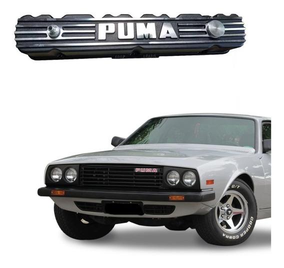 Tampa De Válvula Do Motor Opala 6cc Em Alumínio Para Puma