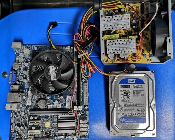 Hd 500 Gb Usado Com Acessórios De Computador