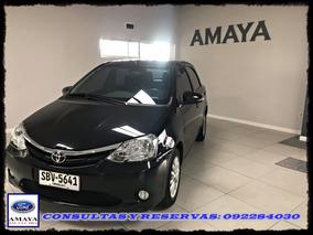 Amaya Toyota Etios 2015 20.000km - Contacto: 092284030
