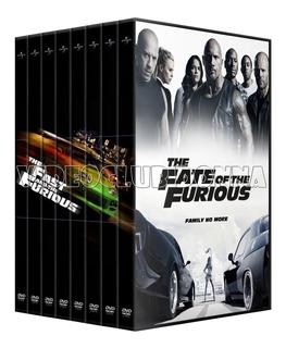 Rapido Y Furioso Fast Furious Saga 8 Peliculas Coleccion Dvd