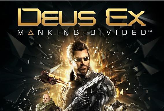 Deus Ex: Mankind Divided Pc Steam Original