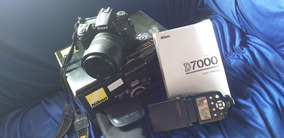 Câmera Nikon D7000 Semi Nova Pouco Usada 2300