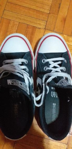 Zapatillas Converse All Star Niño/a Negras