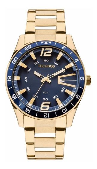 Relógio Technos Masculino 2115laj/4a + Nf + Garantia