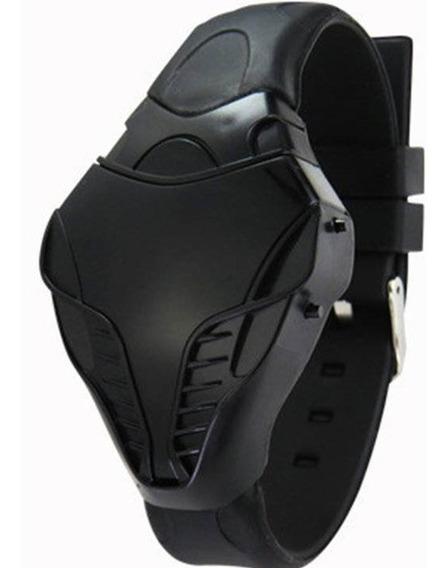 Relógio Esporte Cobra De Led Unissex Pulseira De Borracha Barato