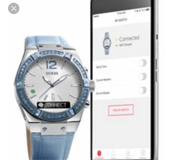 Reloj Guess Connect Smartwatch Bluetooth Para iPhone