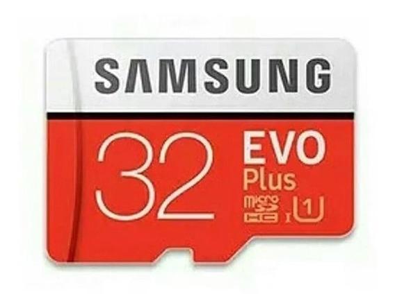 Cartão Memória Micro Sd 32gb Sansung Evo Plus Fhd 95 Mb/s
