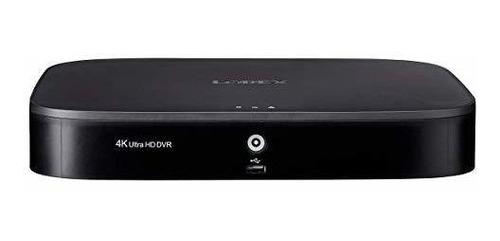Lorex D841a82b Series 8 Canales 4k Hd 2tb Analogico Hd Sist