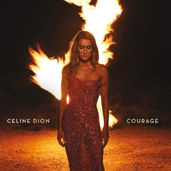 Celine Dion Courage Deluxe Edition Cd + Poster Nuevo Import