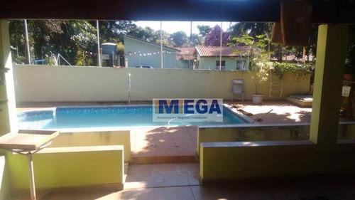 Chácara Com 3 Dormitórios À Venda, 1000 M² Por R$ 490.000,00 - Palmeiras - Artur Nogueira/sp - Ch0041