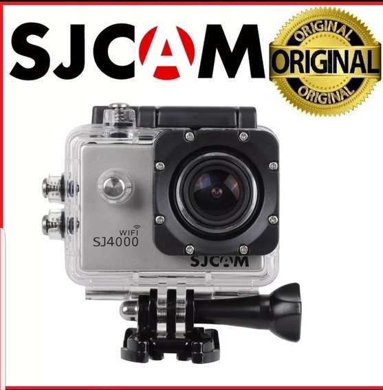 Câmera Sj4000 Wifi Sjcam Original 12mp 1080p Full Hd Filmado