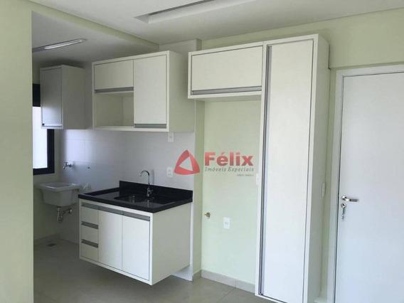 Loft Com 1 Dormitório, 44 M² - Lofts Art Desing - Centro - Taubaté/sp - Lf0008