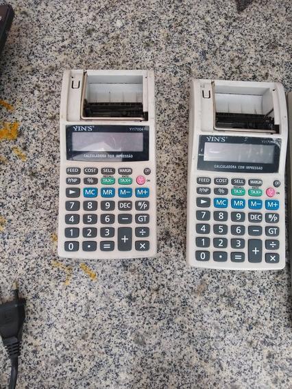 Calculadora Eletrônica Yins Usada 2 Unidades