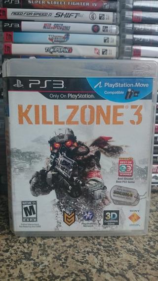 Killzone 3 Ps3 Midia Fisica Frete R$10