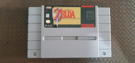 Zelda Um Elo Com O Passado Snes Original