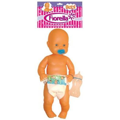 Bebé Plastisol Bebi Con Pañal Bolsa