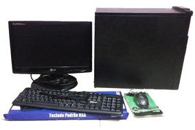 Computador Pentium Duo Core 1.6 Ghz , 4gb Ram , Hd 160gb